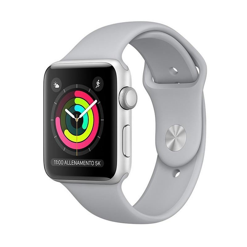 3226786be75 Apple Watch Series 3 GPS 38MM Silver cod. MQKU2QL A - Joyería de Moda