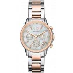 Comprar Reloj Armani Exchange Mujer Lady Banks Cronógrafo AX4331