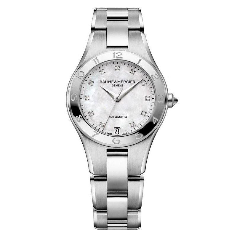 Reloj Baume & Mercier Mujer Linea 10074 Automático Joyería