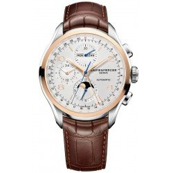 Reloj Baume & Mercier Hombre Clifton Chronograph Moonphase Automatic 10280