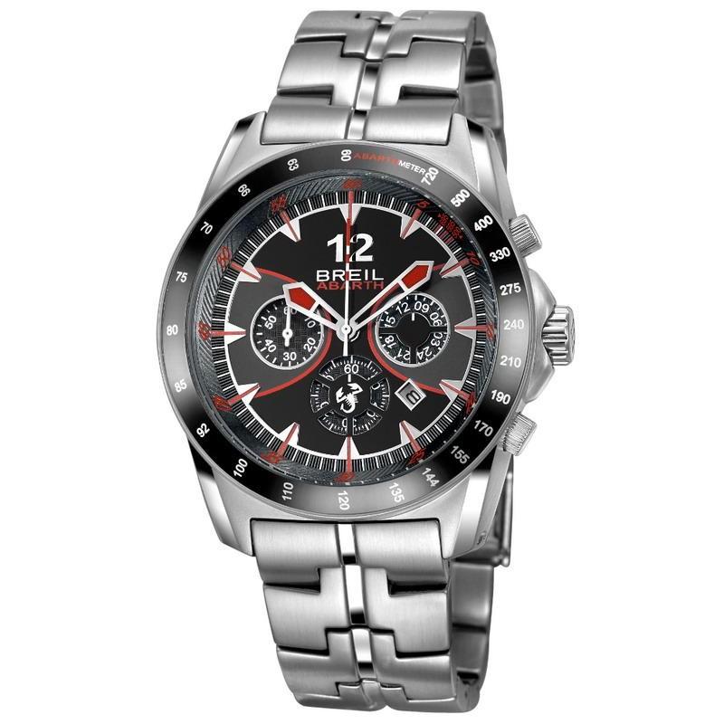 Hombre Breil Cronógrafo Tw1249 Reloj Abarth Quartz PnwOk80