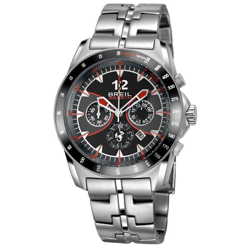 Hombre Abarth Breil Quartz Cronógrafo Tw1249 Reloj F5TKu13clJ