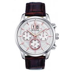Reloj Bulova Hombre Sutton Classic Cronógrafo Quartz 96B309