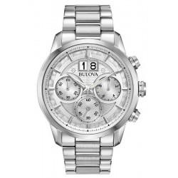 Reloj Bulova Hombre Sutton Classic Cronógrafo Quartz 96B318