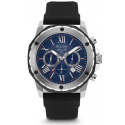 Reloj Bulova Hombre Marine Star Cronógrafo Quartz 98B258