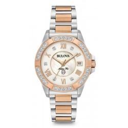 Reloj Bulova Mujer Marine Star Quartz 98R234