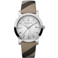 Comprar Reloj Unisex Burberry The City Nova Check BU1390