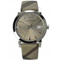 Reloj Unisex Burberry The City Nova Check BU9023