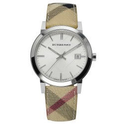Comprar Reloj Unisex Burberry The City Nova Check BU9025