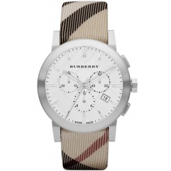 Reloj Hombre Burberry The City Nova Check BU9357 Cronógrafo