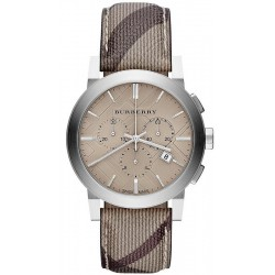 Reloj Hombre Burberry The City Nova Check BU9361 Cronógrafo