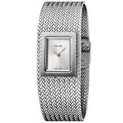 Reloj Mujer Calvin Klein Mesh K5L13136