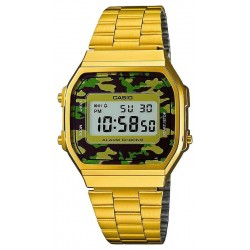 Reloj Unisex Casio Collection A168WEGC-3EF