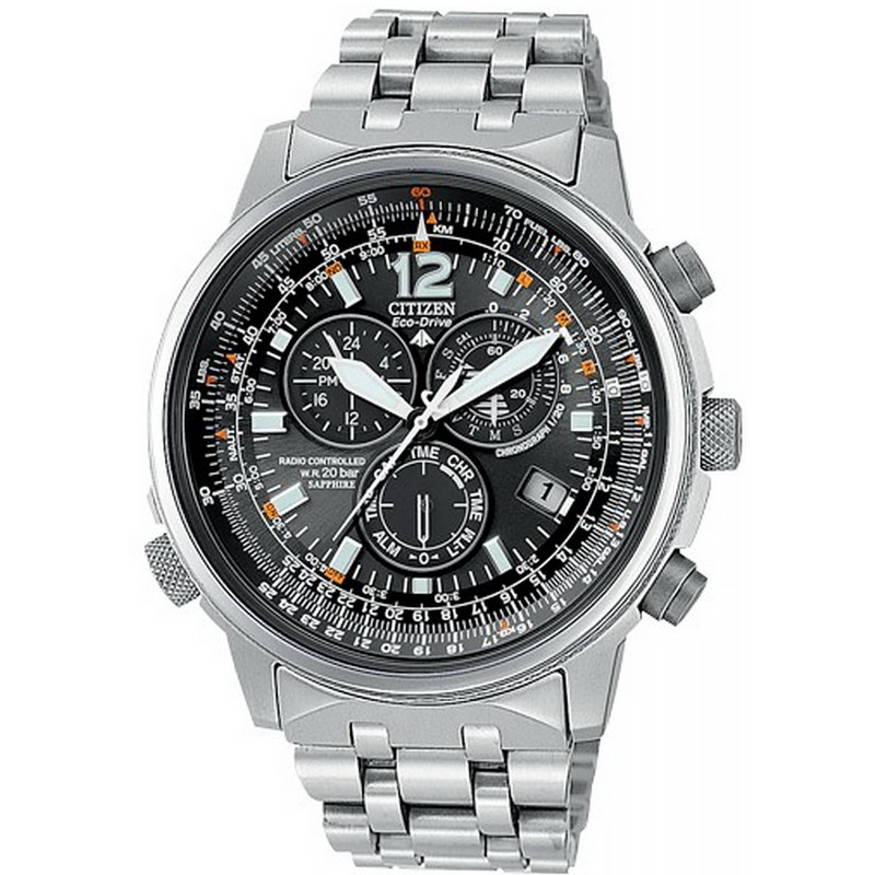 cce40fe0b1bd Reloj para Hombre Citizen Crono Pilot Radiocontrolado Titanio AS4050 ...
