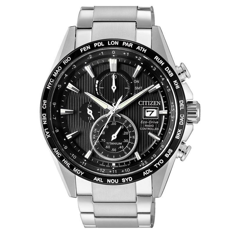 3cfddcc39eab Reloj para Hombre Citizen Radiocontrolado H800 Titanio Eco-Drive AT8154-82E