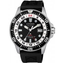 Reloj para Hombre Citizen Promaster Diver's Eco-Drive Super Titanio GMT BJ7110-11E