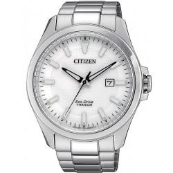 Reloj para Hombre Citizen Super Titanium Eco-Drive BM7470-84A