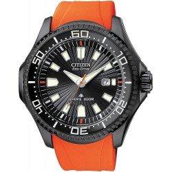Reloj para Hombre Citizen Promaster Diver's Eco-Drive 300M BN0088-03E