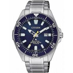 Reloj para Hombre Citizen Promaster Diver's Eco Drive 200M Super Titanio BN0201-88L