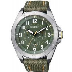 Reloj para Hombre Citizen Military Eco-Drive BU2030-09W Multifunción