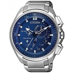 Reloj para Hombre Citizen Radiocontrolado W770 Bluetooth Eco-Drive BZ1029-87L