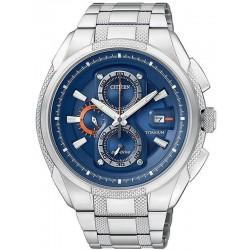 Reloj para Hombre Citizen Super Titanium Crono Eco-Drive CA0200-54L