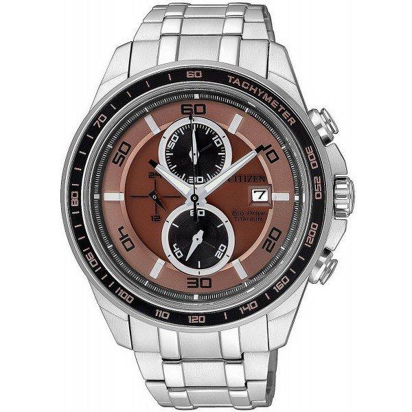 Comprar Reloj para Hombre Citizen Super Titanium Crono Eco-Drive CA0347-56W