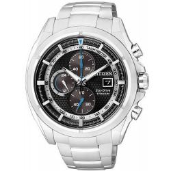 Reloj para Hombre Citizen Super Titanium Crono Eco-Drive CA0550-52E
