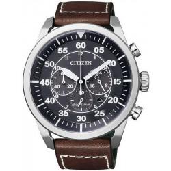 Reloj para Hombre Citizen Crono Aviator Eco-Drive CA4210-16E
