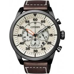 Reloj para Hombre Citizen Crono Aviator Eco-Drive CA4215-04W