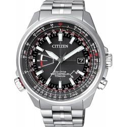 Reloj para Hombre Citizen Radiocontrolado Pilot Titanio Evolution 5 CB0140-58E