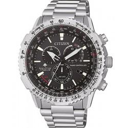 Comprar Reloj para Hombre Citizen Radiocontrolado Crono Pilot Super Titanium CB5010-81E