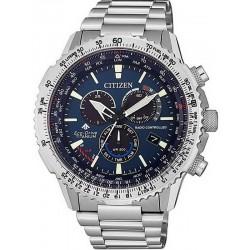 Comprar Reloj para Hombre Citizen Radiocontrolado Crono Pilot Super Titanium CB5010-81L