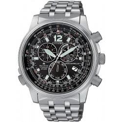 Comprar Reloj para Hombre Citizen Radiocontrolado Crono Pilot Super Titanium CB5850-80E