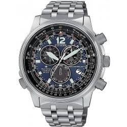 Comprar Reloj para Hombre Citizen Radiocontrolado Crono Pilot Super Titanium CB5850-80L