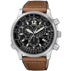 Reloj para Hombre Citizen Radiocontrolado Crono Pilot CB5860-27E