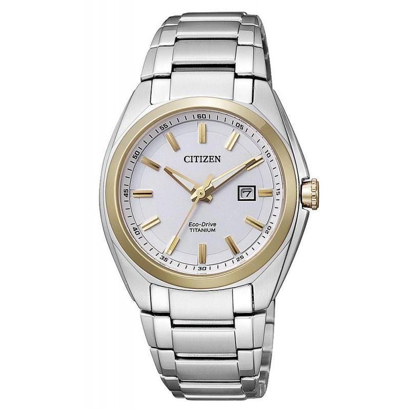 Reloj Mujer Citizen Super Titanium Eco-Drive EW2214-52A - Joyería de ... 78d5f9514b8