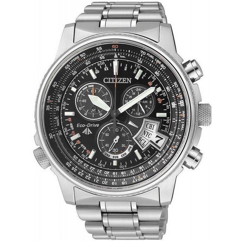 08d0373902c4 Reloj para Hombre Citizen Radiocontrolado The Pilot Evolution 5 Titanio  BY0081-54E
