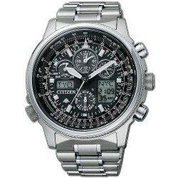 Reloj para Hombre Citizen Radiocontrolado Super Pilot Titanio JY8020-52E