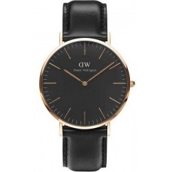 Reloj Daniel Wellington Hombre Classic Black Sheffield 40MM DW00100127