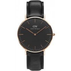 Comprar Reloj Daniel Wellington Unisex Classic Black Sheffield 36MM DW00100139