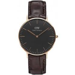 Comprar Reloj Daniel Wellington Unisex Classic Black York 36MM DW00100140