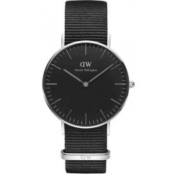 Reloj Daniel Wellington Unisex Classic Black Cornwall 36MM DW00100151