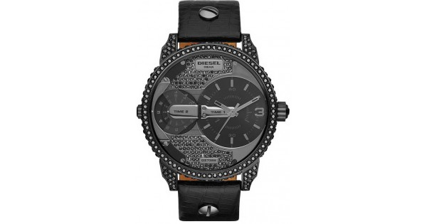 806aaf68189f Reloj Unisex Diesel Mini Daddy DZ7328 Dual Time - Joyería de Moda