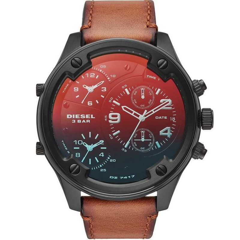 2ac03a46373 Reloj para Hombre Diesel Boltdown DZ7417 Cronógrafo 3 Zonas Horarias ...