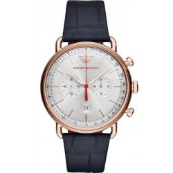 Reloj Emporio Armani Hombre Aviator AR11123 Cronógrafo