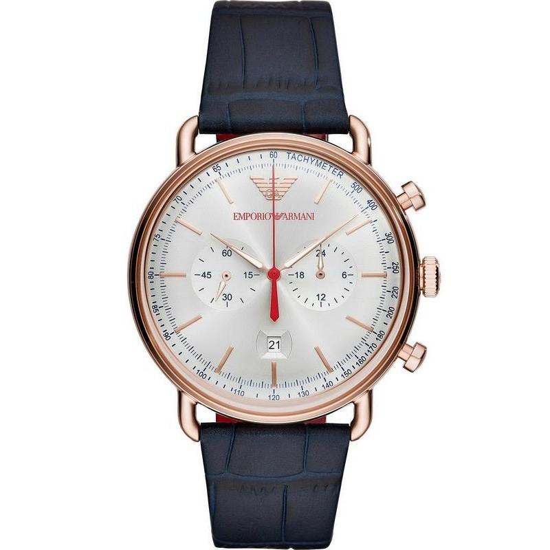 486e2cb0e2 Reloj Emporio Armani Hombre Aviator AR11123 Cronógrafo - Joyería de Moda
