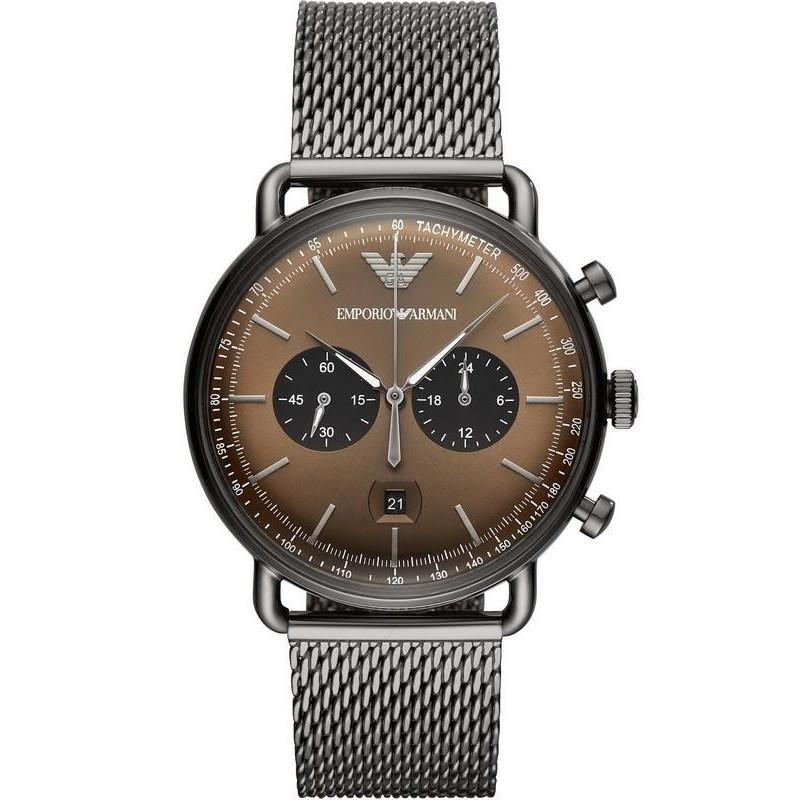 9bb239b674 Reloj Emporio Armani Hombre Aviator AR11141 Cronógrafo - Joyería de Moda