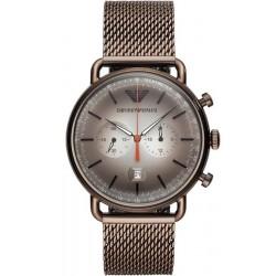 Reloj Emporio Armani Hombre Aviator AR11169 Cronógrafo