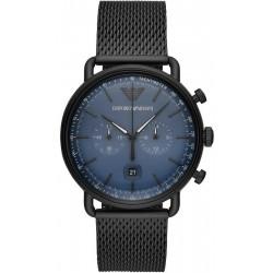 Reloj Emporio Armani Hombre Aviator Cronógrafo AR11201